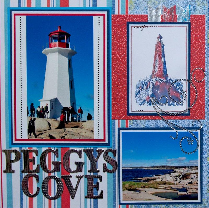 Peggy's Cove, Nova Scotia - LEFT SIDE