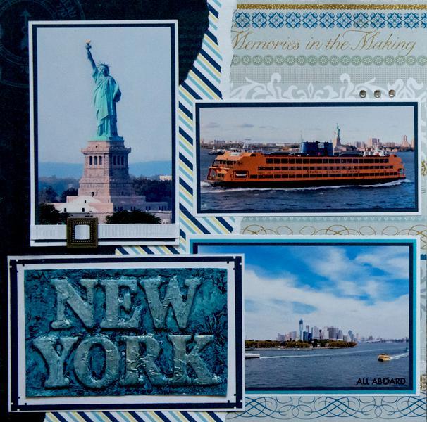 Departing New York - LEFT SIDE