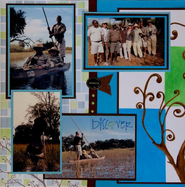 SAFARI: Little Vumbura, Botswana, Africa - LEFT SIDE