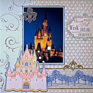 Cinderella's Castle - Disney World, Florida - RIGHT SIDE