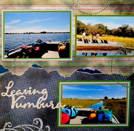 Leaving Little Vumbura Camp, Botswana - RIGHT SIDE