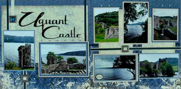 Uquart Castle, Loch Ness, Scotland