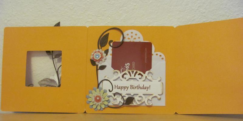 Owl Birthday Tri-Fold Card - 3