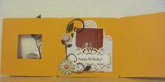 Owl Birthday Tri-Fold Card - 3