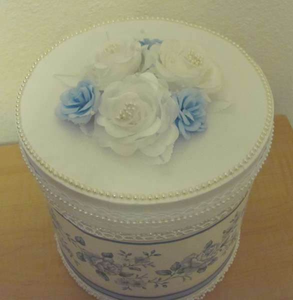 Decorated Storage Box