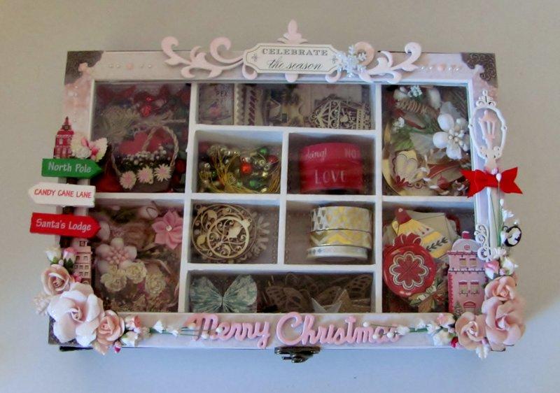 Christmas Embellishment Box for Donna
