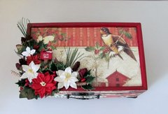Christmas Embellishment Box for Vicki