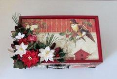 Christmas Embellishment Box for Vicki