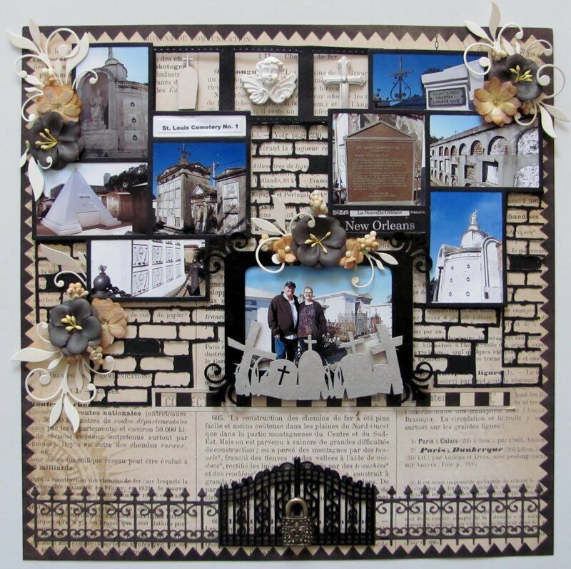 New Orleans -  St. Louis Cemetery Collage