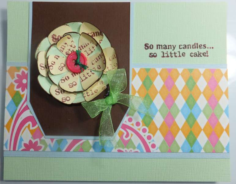 So little cake Card