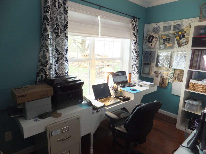 My new scrap room - office