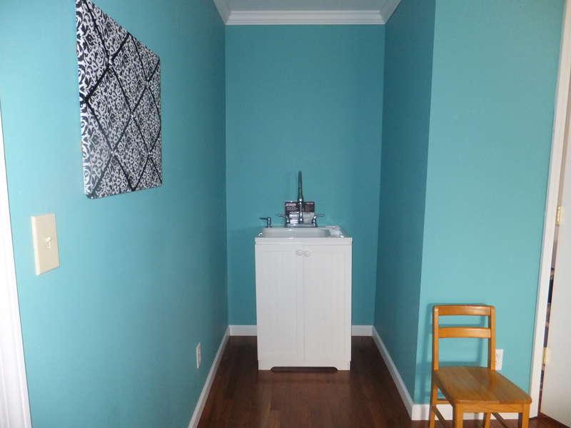 My new scrap room - sink