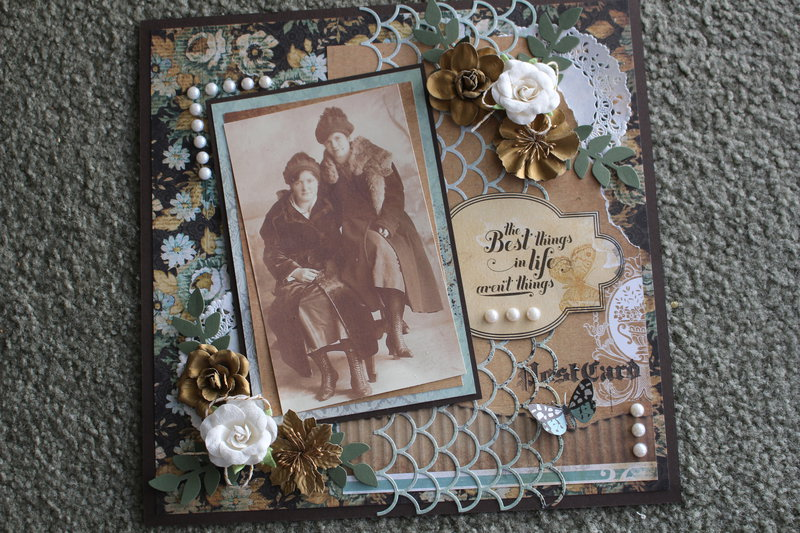 Vintage Family Page