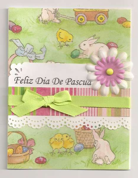 Easter Card Spanish