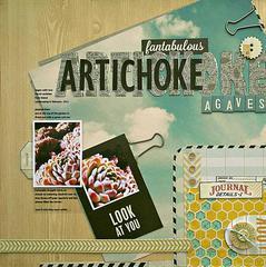 Artichoke Agaves (Citrus Twist Kit)