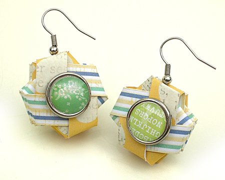 Woven Paper Earrings (Citrus Twist Kits)