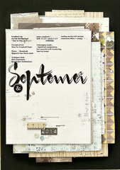 My September Design Journal