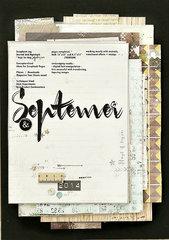 My September Design Journal
