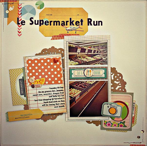 Supermarket Run (Citrus Twist Kit)