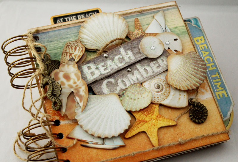 Beach Comber Mini Album