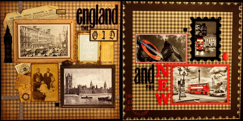 England - old and new