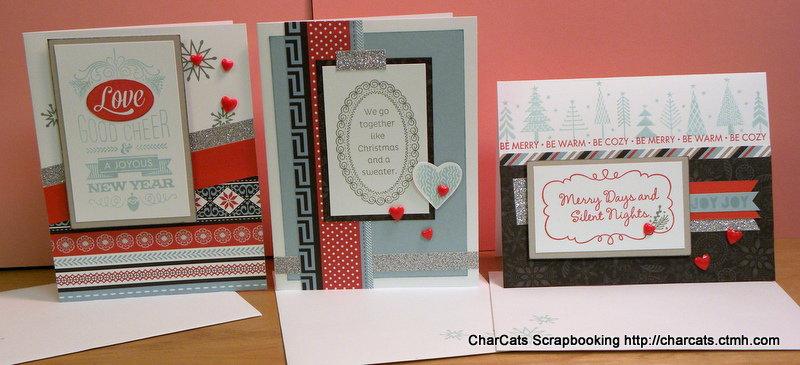 CTMH Snowhaven Card Kit