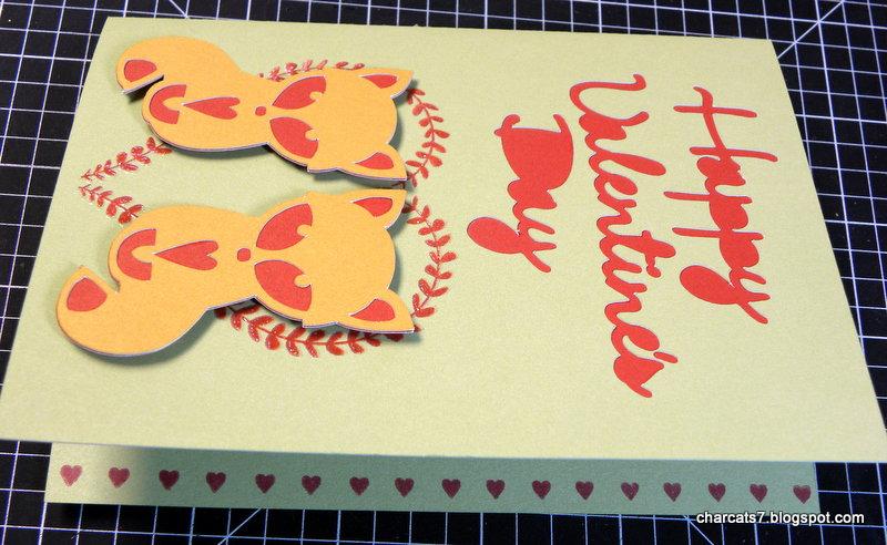 Happy Valentine's Day - foxes