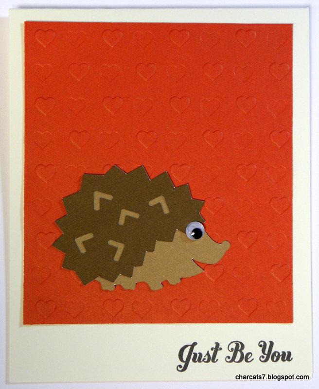 Just be You hedgehog