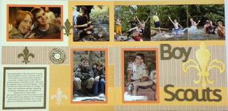 Boy Scouts- Buzz & Bumble CTMH Workshop