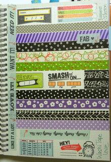 SmashBook- Love of Washi Tape