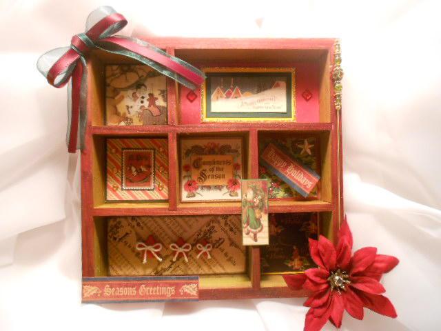 Wooden Christmas Frame