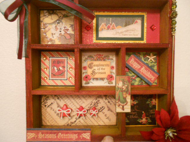 Wooden Christmas Frame