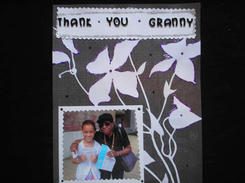 Thank you Granny