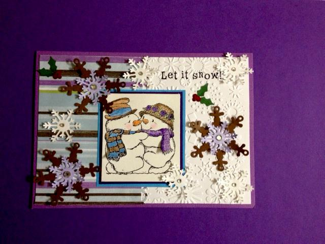 Let it snow (christmas card)