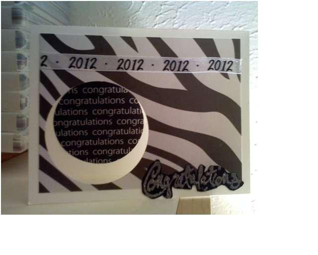 Funky Graduation card