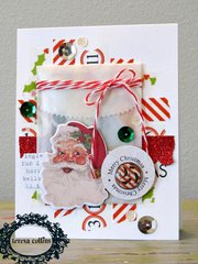Santa's List Christmas Card