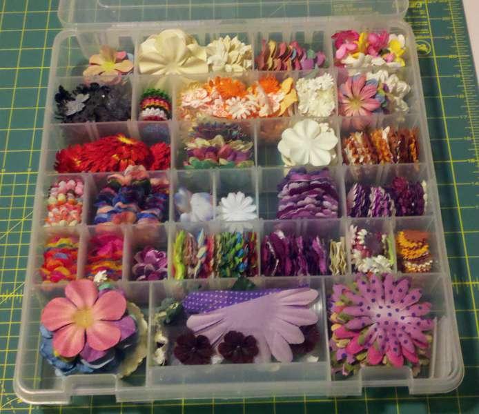 Organizing Flowers