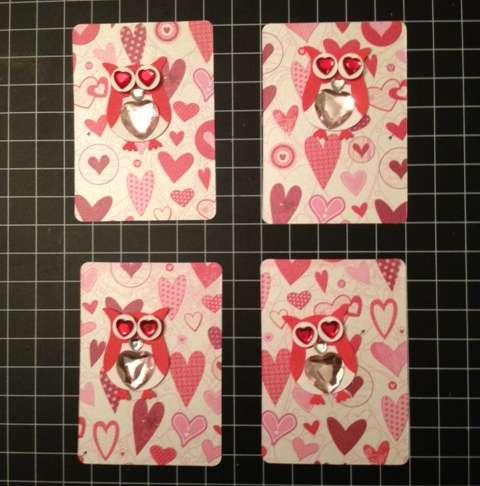 Valentine ATC card