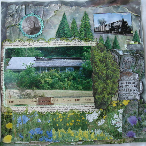 Wildflowers, Tombstones and Trains...