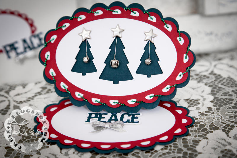 Peace for Christmas ~ Easel Card