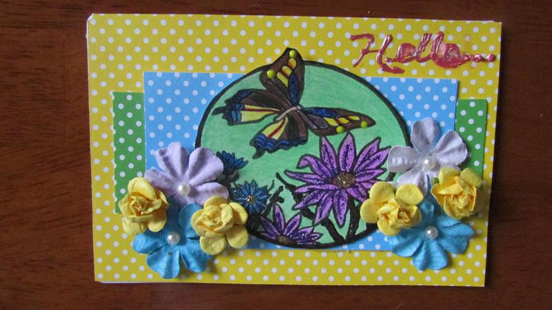 Note Card ~ Springtime
