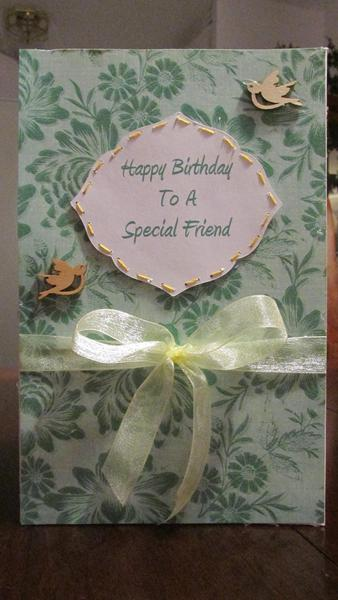 To A Special Friend ***Birthday