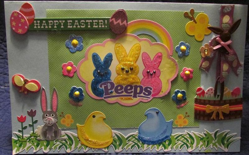 Easter Card ****Peeps