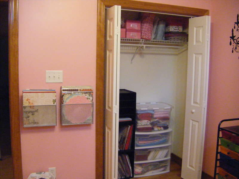 Closet and Paper organization