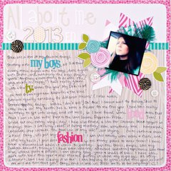 All About Me 2013 Ed. *Bella Blvd*