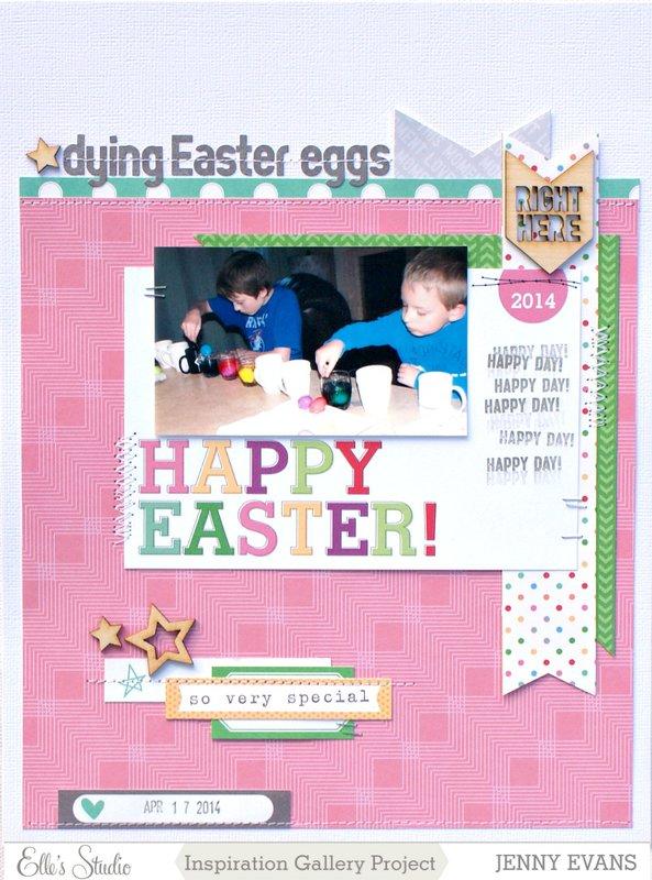 Dying Easter Eggs *Elle's Studio*