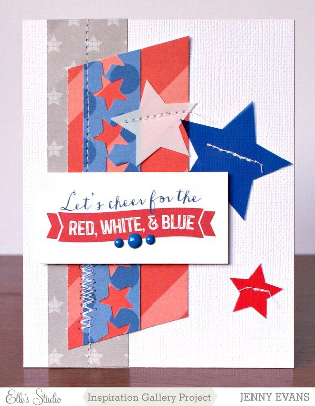 Red White & Blue *Elle's Studio*
