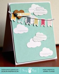 Be Happy card *Fancy Pants Designs*