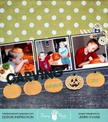 Carving Pumpkins *Fancy Pants Designs*