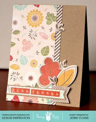 Give Thanks card *Fancy Pants Designs*